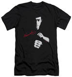 Bruce Lee - The Dragon Awaits (slim fit) T-Shirt