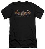 Batman Arkham Asylum - Arkham Asylum Logo (slim fit) T-shirts
