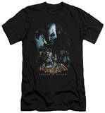 Batman Arkham Asylum - Five Against One (slim fit) T-shirts