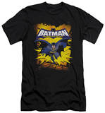 Batman The Brave and the Bold - Rooftop Leap (slim fit) Shirts