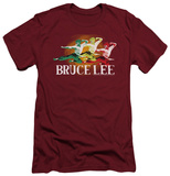 Bruce Lee - Tri Color (slim fit) Shirt