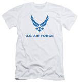 Air Force - Distressed Logo (slim fit) Shirt