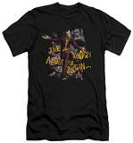 Batman Arkham City - About To Begin (slim fit) Shirts