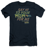 Back To The Future - Say Hi (slim fit) Shirts