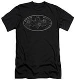 Batman - Glass Hole Logo (slim fit) Shirts