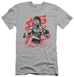 Bruce Lee - Ink Splatter (slim fit) T-shirts