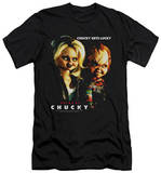 Bride Of Chucky - Chucky Gets Lucky (slim fit) T-shirts