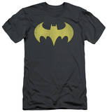 Batman - Batgirl Logo Distressed (slim fit) T-shirts
