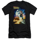 Back To The Future - Poster (slim fit) T-Shirt