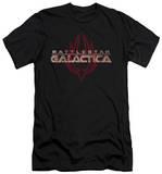 Battlestar Galactica - Logo With Phoenix (slim fit) Vêtements