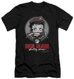 Betty Boop - Born To Ride (slim fit) Vêtement
