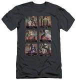 Batman Arkham City - Arkham Lineup (slim fit) T-Shirt
