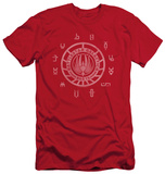 Battlestar Galactica - Colonies (slim fit) T-Shirt