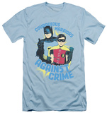 Batman Classic TV - Courage The Cowardly Dogous Warriors (slim fit) T-shirts