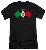 Batman - Mexican Flag Shield (slim fit) T-shirts