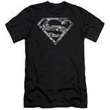 Superman - Urban Camo Shield (slim fit) T-Shirt