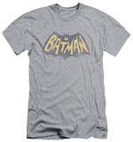 Batman Classic TV - Show Logo (slim fit) T-shirts