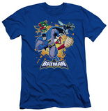 Batman The Brave and the Bold - Burst Into Action (slim fit) T-shirts