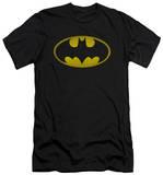 Batman - Washed Bat Logo (slim fit) T-Shirt