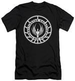Battlestar Galactica - Galactica Badge (slim fit) T-Shirt