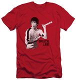 Bruce Lee - Nunchucks (slim fit) T-shirts