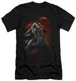 Dark Knight Rises - Grungy Knight (slim fit) T-Shirt