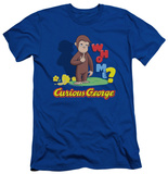 Curious George - Who Me (slim fit) T-shirts