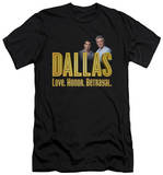 Dallas - Logo (slim fit) T-shirts