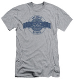 CSI - Vegas Badge (slim fit) T-shirts