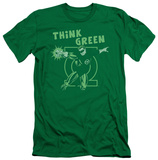Green Lantern - Think Green (slim fit) Shirts