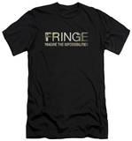 Fringe - Fringe Logo (slim fit) T-shirts