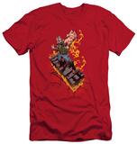 Dark Knight Rises - Bane On Fire (slim fit) Shirts