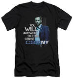 CSI NY - You Will Answer (slim fit) Shirt