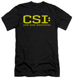 CSI - Logo (slim fit) Shirts