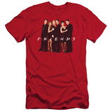 Friends - Cast In Black (slim fit) T-shirts
