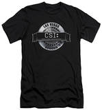 CSI - Rendered Logo (slim fit) T-shirts