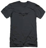 Dark Knight Rises - Scratched Logo (slim fit) T-Shirt