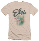 Elvis Presley - Colorful King (slim fit) T-Shirt
