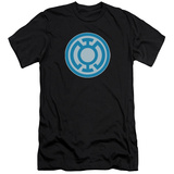 Green Lantern - Blue Symbol (slim fit) T-Shirt