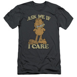 Garfield - Ask Me (slim fit) Shirts