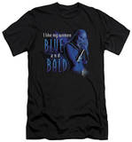 Farscape - Blue And Bald (slim fit) T-Shirt