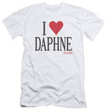 Frasier - I Heart Daphne (slim fit) T-Shirt