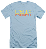 CSI Miami - Logo Distressed (slim fit) Shirts