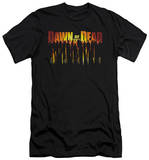 Dawn Of The Dead - Walking Dead (slim fit) T-Shirt