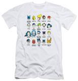 DC Comics - Superhero Issues (slim fit) T-shirts
