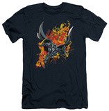 Dark Knight Rises - Fire Rises (slim fit) T-shirts