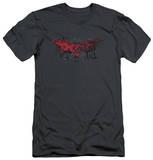 Dark Knight Rises - Fear Logo (slim fit) Shirts
