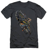 Dark Knight Rises - Attack (slim fit) T-Shirt