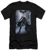Dark Knight Rises - Crumbled Poster (slim fit) T-Shirt