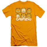 Garfield - Many Faces (slim fit) Shirts